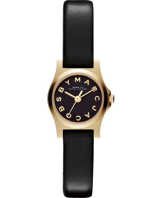 Marc by Marc Jacobs 'Dinky' Leather Watch 21mm