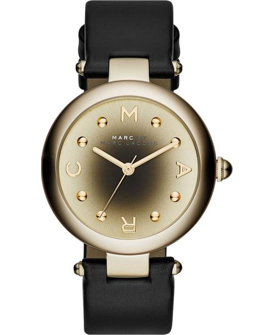 Marc Jacobs Dotty Gold-to-black Ladies Watch 34mm