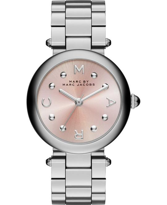 Marc By Marc Jacobs Dotty Pink Sunray Ladies Watch 34MM