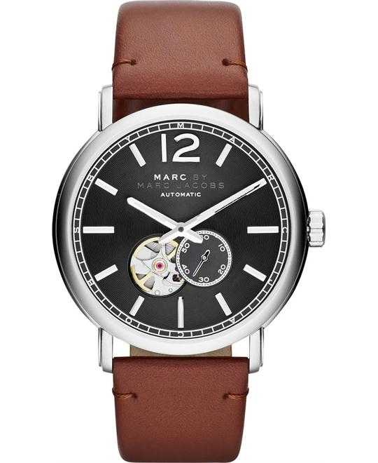 Marc by Marc Jacobs Men's Fergus Camel Leather Watch 42mm