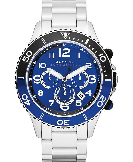 Marc by Marc Jacobs Rock Navy and Blue Watch 46mm