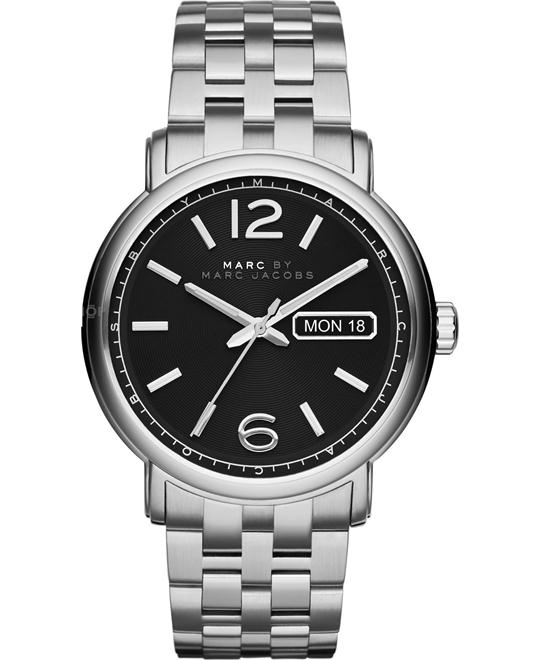 Marc by Marc Jacobs Fergus Silver Watch 42mm
