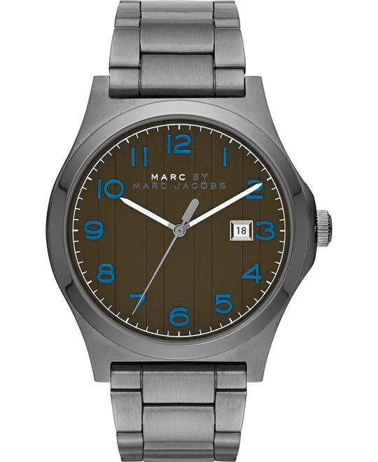 Marc by Marc Jacobs Jimmy Gunmetal Olive-Watch 43mm