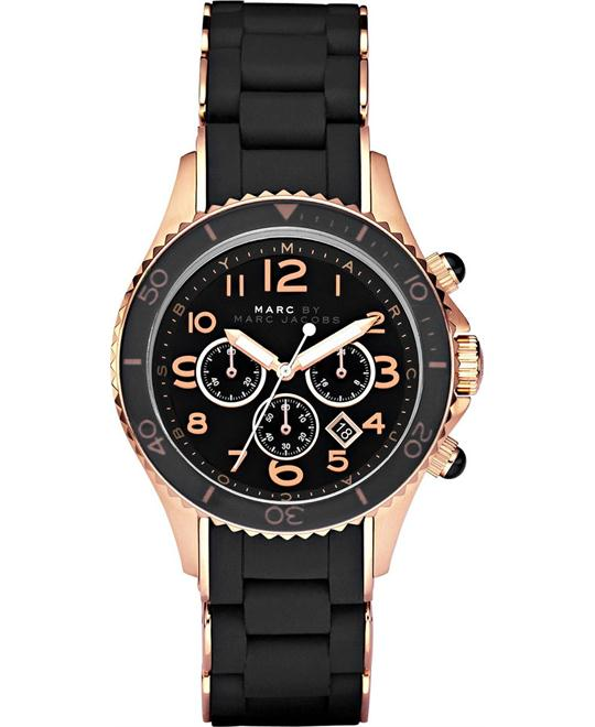 Marc by Marc Jacobs Rock Black & Rose Watch 40mm
