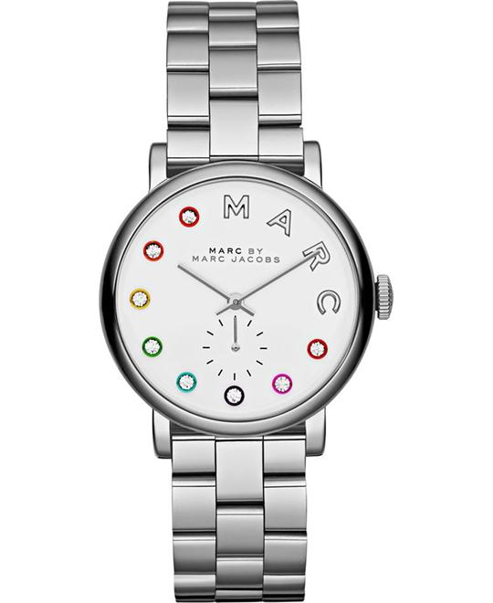 MARC BY MARC JACOBS Baker Silver Watch 36mm
