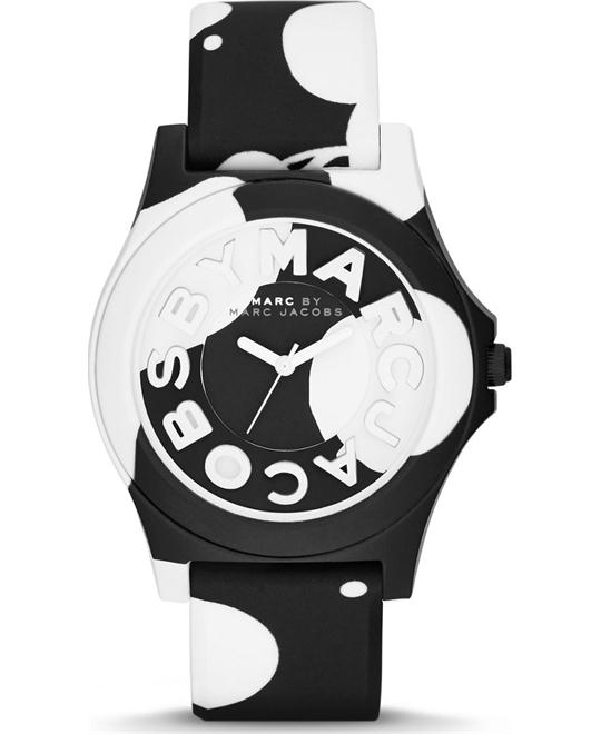 Marc by Marc Jacobs Sloane Women's Sloane Silicone Strap Watch 40mm