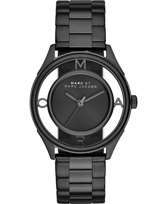 Marc by Marc Jacobs Tether Women's Black-Tone Watch 36mm