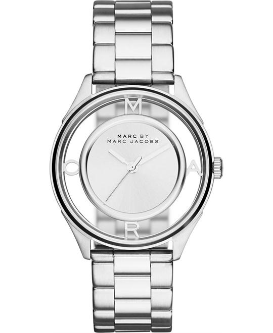 Marc by Marc Jacobs Tether Silver-Tone Watch 36mm