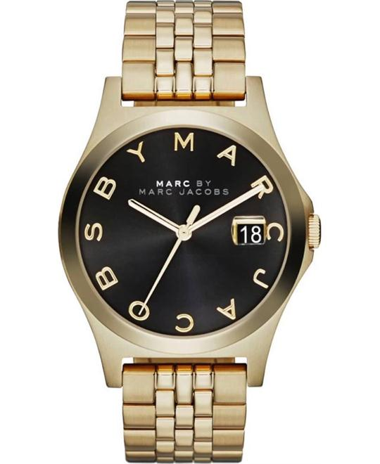 MARC BY MARC JACOBS The Slim Black Unisex Watch 36mm