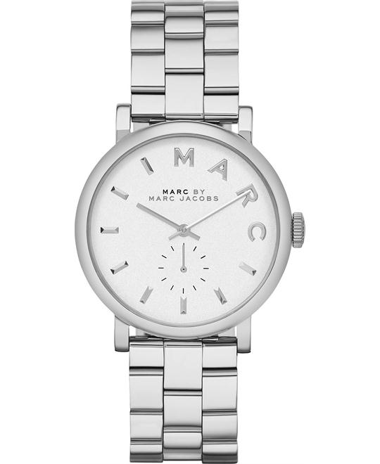 Marc by Marc Jacobs Baker White Dial Watch 37mm