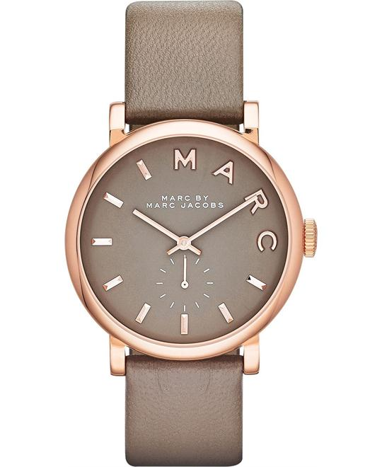 Marc Jacobs  Baker Grey Dial Watch 37mm