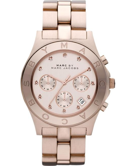 Marc Jacobs Blade Chronograph Rose Gold Watch 40mm