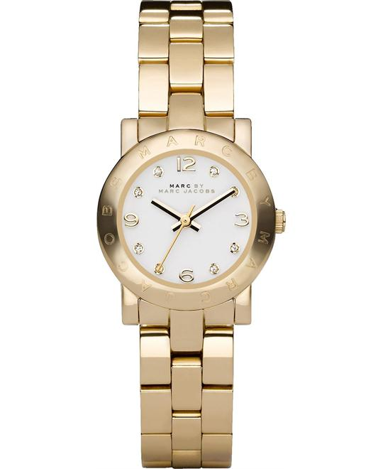 Marc Jacobs Mini Amy Gold-Tone Watch 26mm