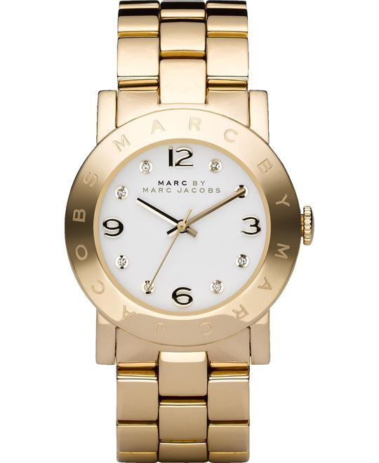 Marc by Marc Jacobs Amy  Gold-Tone Watch 36mm