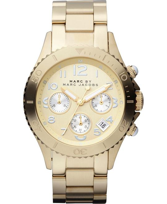 Marc Jacobs  ROCK Chronograph Gold Watch 40mm