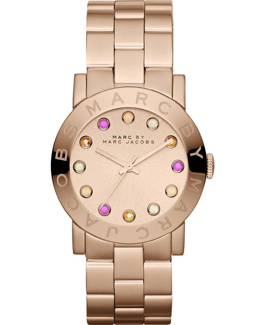 Marc Jacobs Amy Dexter Rose Gold-Tone Watch 36mm