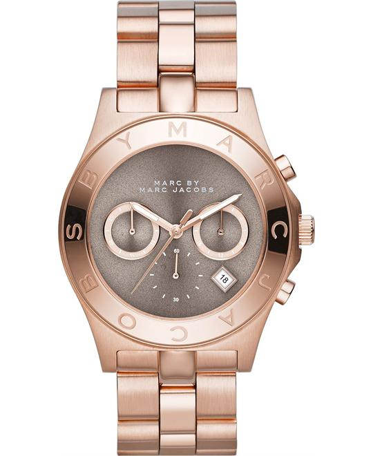 Marc by Marc Jacobs BLADE Chronograph Rose Gold Watch 40mm