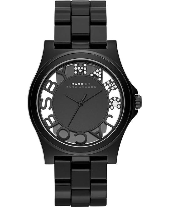Marc by Marc Jacobs Henry Skeleton Plastic Watch 41mm