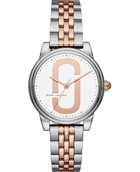 Marc Jacobs Corie Two-Tone Watch 36mm