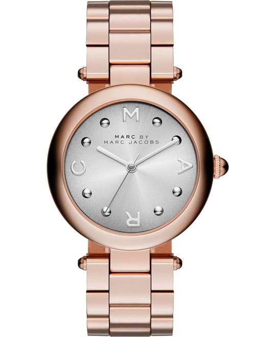 Marc Jacobs Dotty Rose Gold Ladies Watch 34mm