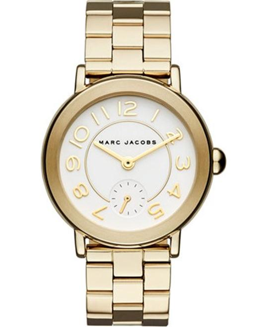 MARC JACOBS Riley Gold Watch 36mm