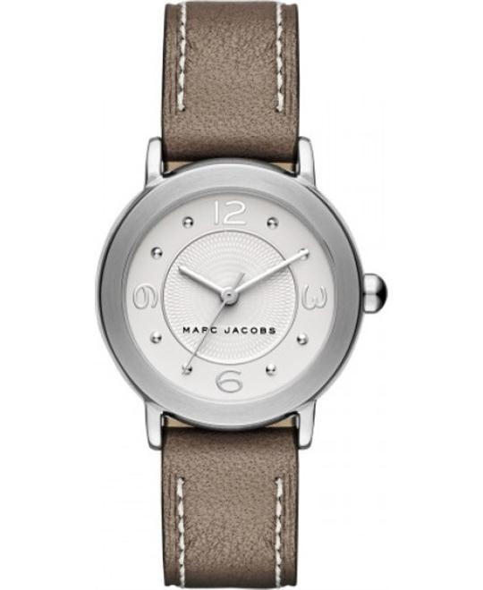 Marc Jacobs Riley Women's Leather Strap Watch 28mm