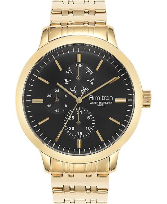 Men's Gold-Tone Watch, 48mm