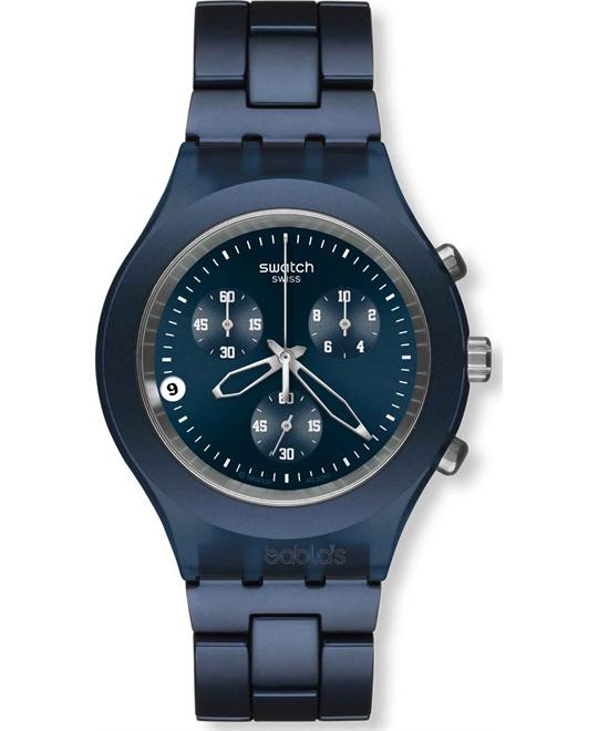 Men's Irony Swatch Color: Blue 43mm