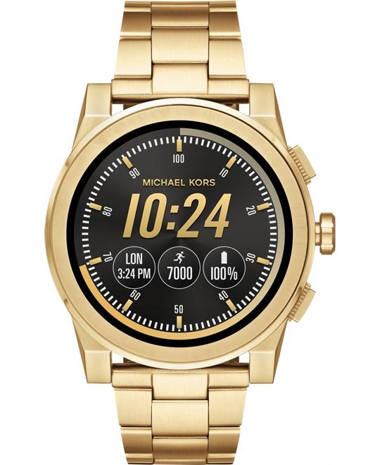 MICHAEL KORS ACCESS Grayson Gold-Tone Smartwatch 47mm
