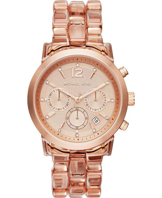 Michael Kors Audrina Women's Chronograph Blush Watch 42mm