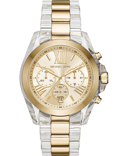 MICHAEL KORS Bradshaw Champagne Chrongoraph Watch 43mm