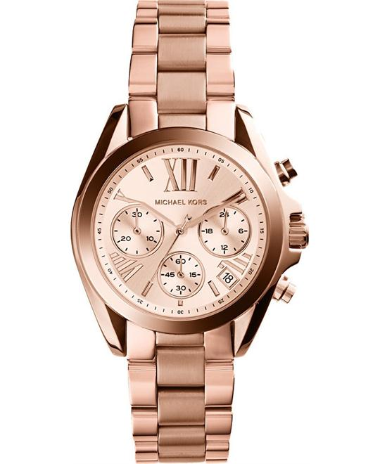 Michael Kors Bradshaw Rose Gold Watch 36mm