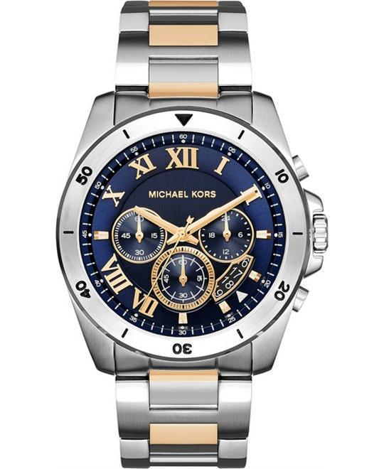 MICHAEL KORS Brecken Chronograph Blue Watch 44mm