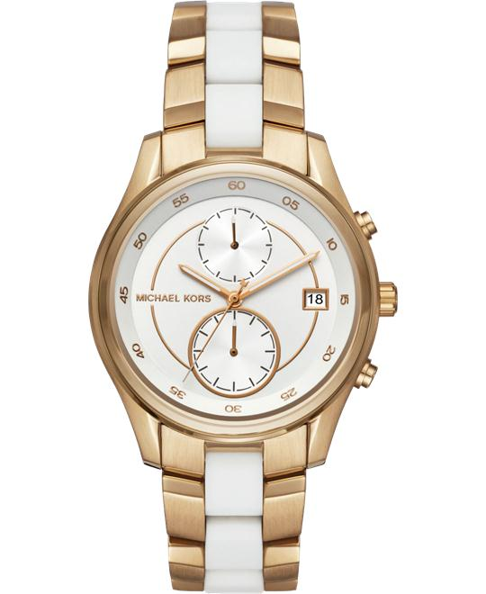MICHAEL KORS Briar Gold-Tone Watch 40mm