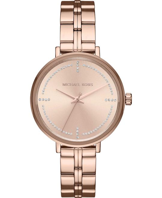 Michael Kors Bridgette Rose Gold-Tone Watch 38mm