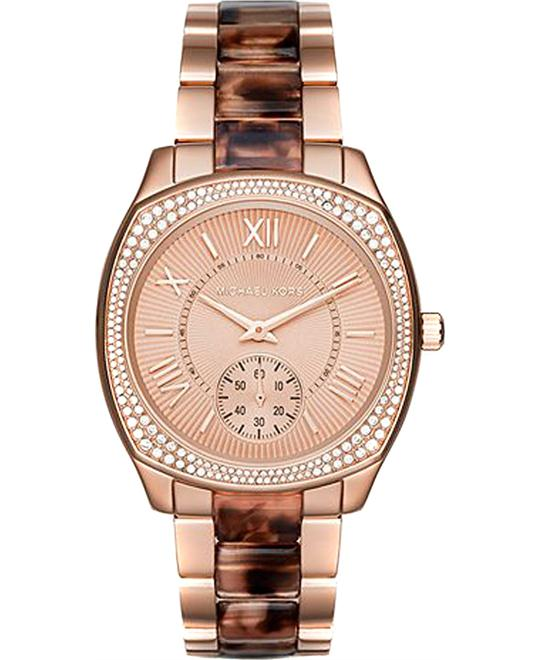MICHAEL KORS Bryn Rose Gold-Tone Ladies Watch 40mm
