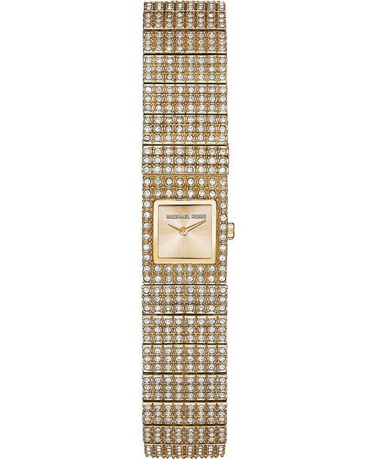 Michael Kors Cabrina Pave Gold Ladies Watch 10x10mm