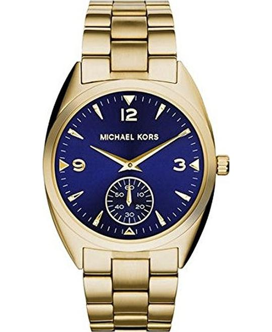 Michael Kors Callie blue Dial Gold Unisex Watch 38mm