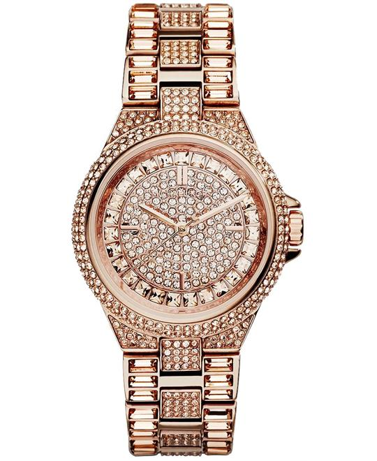 Michael Kors Camille Rose Crystal Women's Watch 33mm