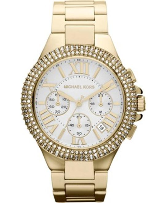 Michael Kors Camille Gold-Tone Watch 43mm