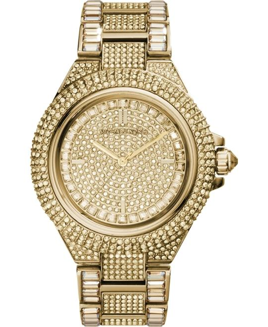 Michael Kors 'Camille' Gold-Tone Watch 44mm