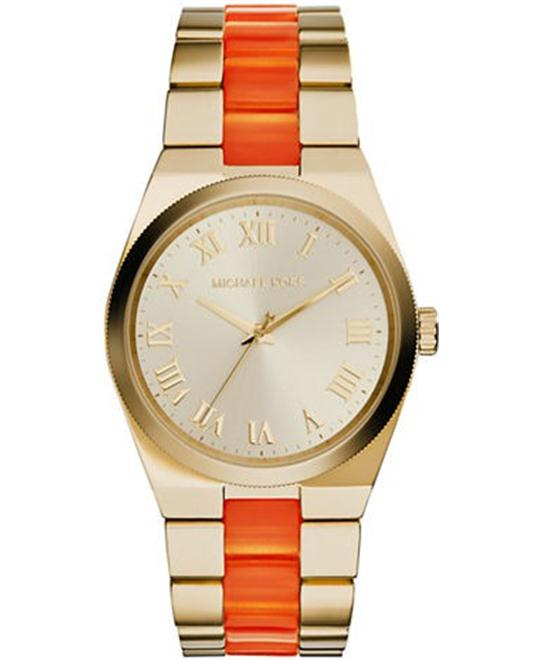 MICHAEL KORS Channing Champagne Dial Quartz Ladies Watch
