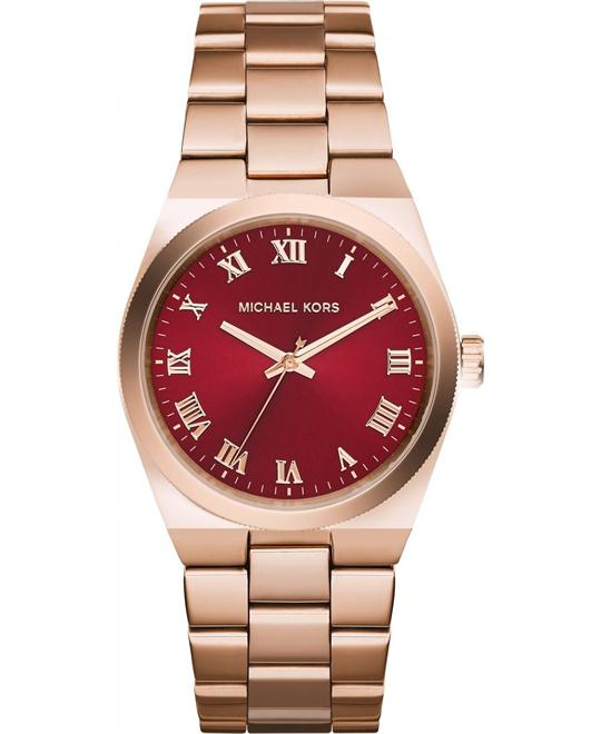 Michael Kors Channings Unisex Rose Gold Watch 38mm