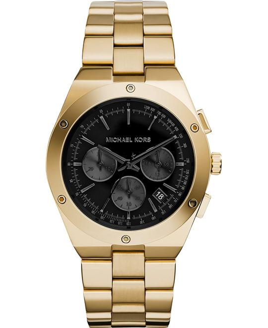 Michael Kors Reagan Gold Tone Unisex's Watch 42mm