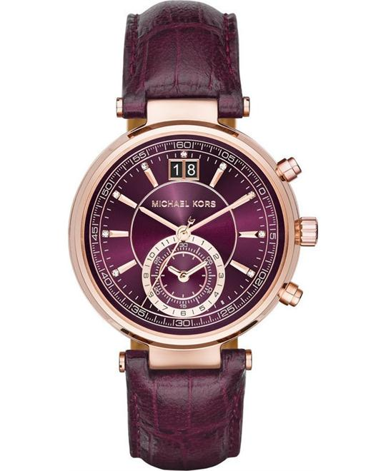 Michael Kors Sawyer Plum Women's Watch 39mm