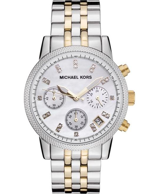Michael Kors Ritz Two-tone Unisex Watch 36mm