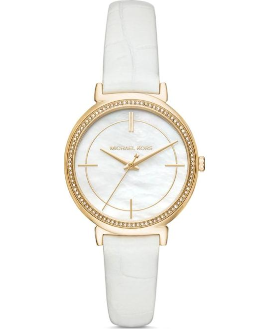 Michael Kors Cinthia Three-Hand Watch 33mm