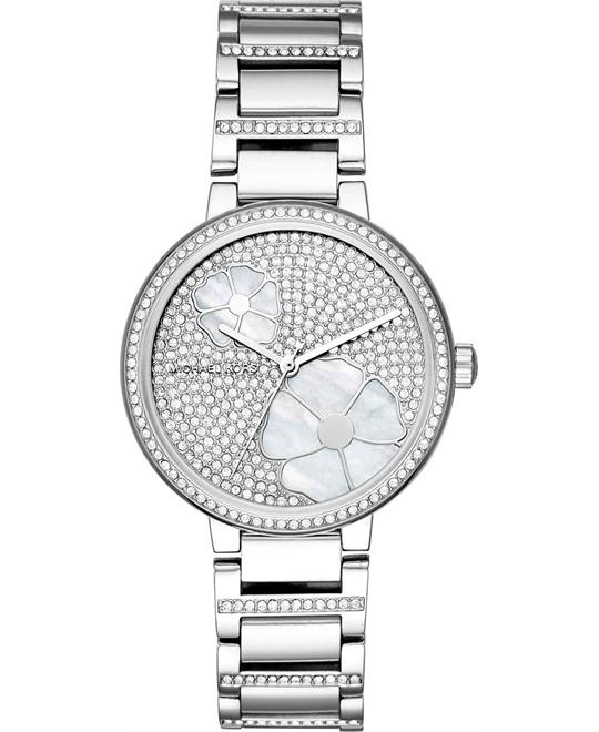 đồng hồ Michael Kors Courtney Stainless-Steel Watch 36mm