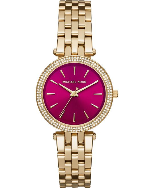 MICHAEL KORS Darci Mini Fuchsia Watch 33mm