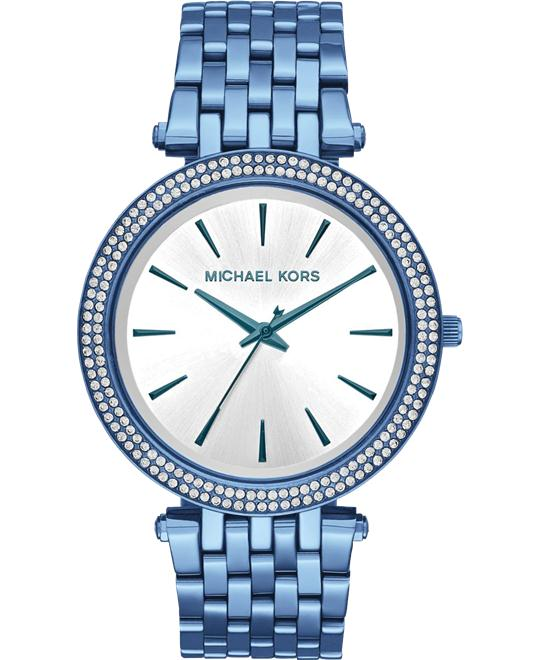 MICHAEL KORS Darci Pavé Cerulean-Tone Watch 39mm